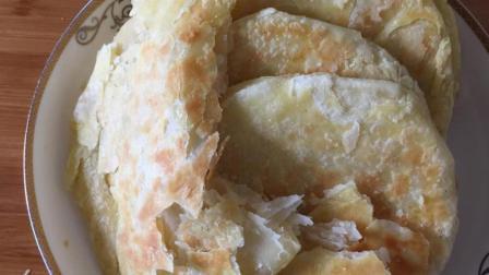 老式糖酥饼的家常做法酥脆多层一碰掉渣, 讲解详细一看就会