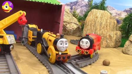 托马斯小镇管理员 和托马斯小火车一起帮助遇到困难的小伙伴吧