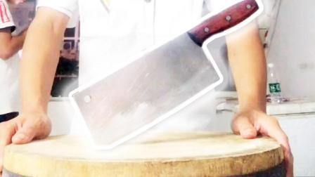 厨师刀功表演视频, 如果厨师的刀功分10级, 这个我打9级!