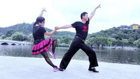 吉特巴第三套广场舞教学