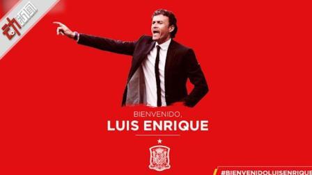 恩里克出任西班牙国家队新主帅 执教至欧洲杯曾率巴萨夺9冠