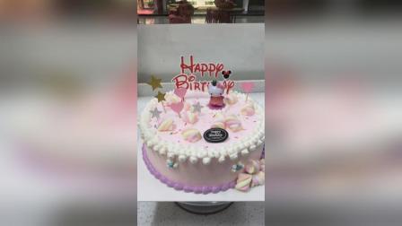 一款粉色KT猫插件蛋糕, 好美哟, 喜欢的宝宝记得点赞转发哦