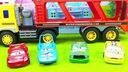 惯性玩具工程车大货车小汽车玩具