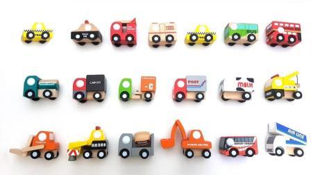 积木汽车玩具拼图