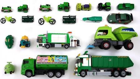 货车和推土机的内部构造