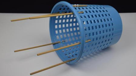 赶紧把筷子绑在垃圾桶上, 这个妙招太实用了, 后悔今天才知道