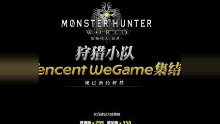 [玩家纪闻]20180710 《怪物猎人: 世界》PC版均支持中文, NPD称Switch将成为北美最畅销