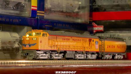 【火车模型】Athearn HO GTEL燃气轮机车搭载ESU音效测试
