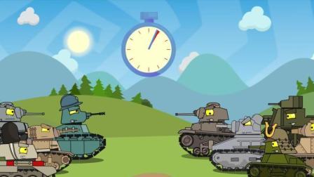 坦克世界搞笑动漫: 低级坦克大乱斗, 苏系能做到依旧称霸吗?
