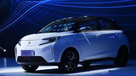 老大哥出招, 一汽新能源品牌新特DEV1正式亮相, 仅售10元万内