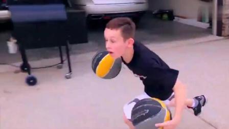 看完美国十三岁男孩的训练, 这才叫做篮球梦