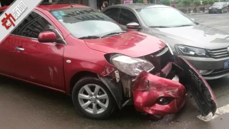 私家车乱停挡道被消防车撞开车主无法索赔 还被罚款!