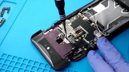 「爱·拆」OPPO Find X拆解: 2018上半年结构最复杂/最精密/最难拆装的手机