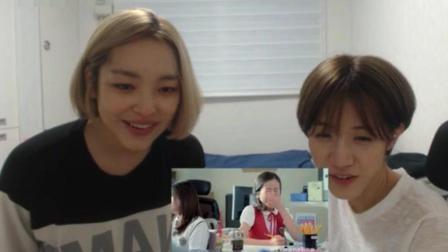 韩国美女看TF*OYS《宠爱》MV反应