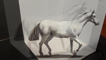 都是用铅笔画画, 为什么他画的马能跑起来?