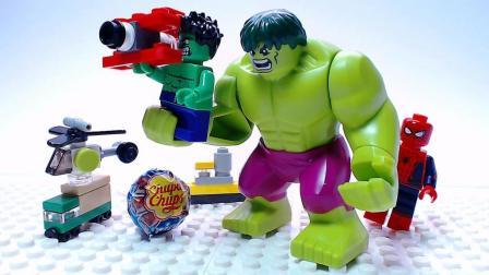 绿巨人浩克是怎么做个好爸爸的? 乐高定格动画