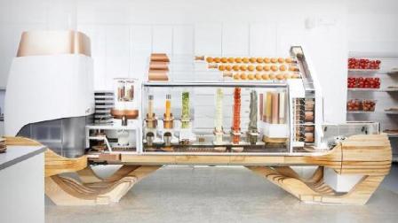 全球首台全自动汉堡机, 一小时做100个汉堡, 买台可以开汉堡店了