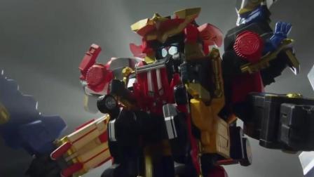 假面骑士也开机器人了! 假面骑士drive和手里剑战队的合作