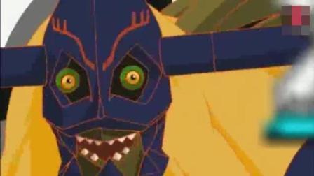 究极体合体! 一分钟, 奥米加兽的超神表演, 数码宝贝的皇家骑士登场