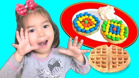 和妈妈一起做早餐!