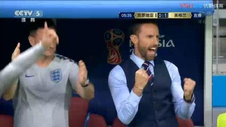 2018年世界杯 克罗地亚VS英格兰-上半场录像