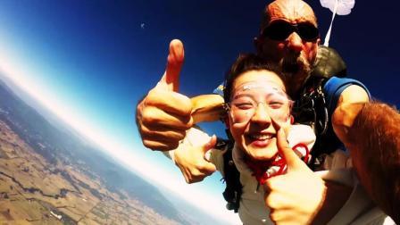 澳洲之旅, 看墨尔本时装周体验高空跳伞