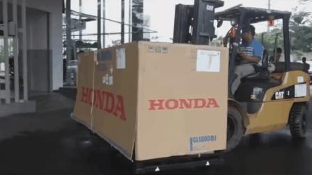 花40多万买的本田金翼刚到货, 打开箱子后才知道为啥敢买40万