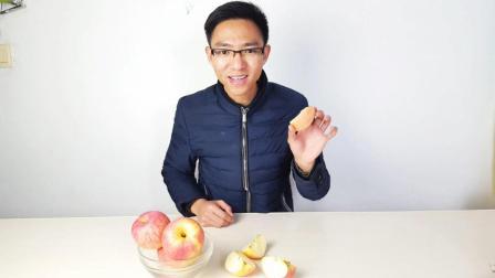 手撕苹果, 原来所有人都可以做到! 只要这四步, 女生都能掰开