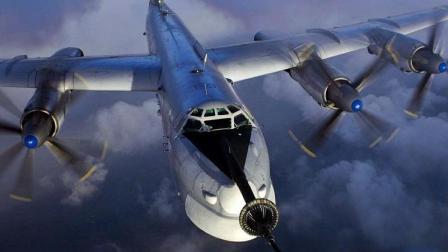 史上唯一一種核動力戰機, 擁有4臺核動力發動機, 能繞地球飛80圈