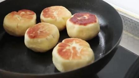 不用烤箱, 在家用平底锅也能做小面包! 做给孩子, 干净、营养又美味!