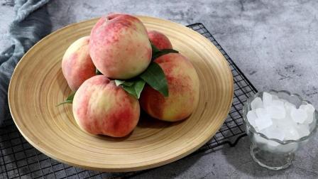 吃桃子的季节, 教你自制桃子罐头, 只需一点冰糖和水就搞定
