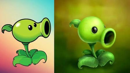 大神手画植物原图, 这个感觉比游戏里的还真实