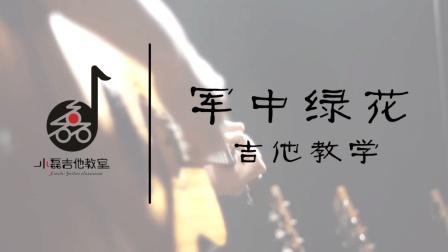 《军中绿花》吉他弹唱教学——小磊吉他教室出品