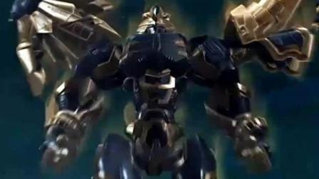 超兽武装: 狮王救属下, 首次进行超兽武装