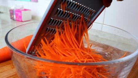 胡萝卜最好吃的做法, 不炒不炖不凉拌, 这样做比吃肉都香, 超简单