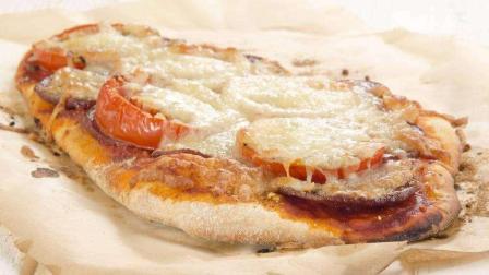 自己做的腊肠鸡蛋饼, 比披萨都好吃!