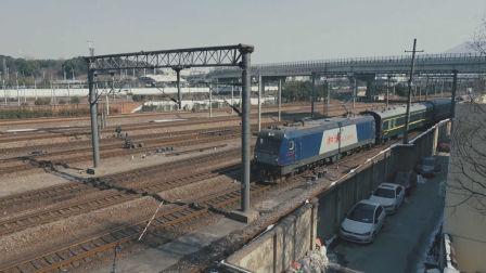 [火车]HXD3C+25G[K1150]苏州-新乡 上局宁东南京进站