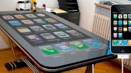 """全球最大""""手机""""比一张课桌都大, 像苹果手机, 你会用吗?"""