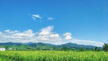 江西省抚州市南城县洞天福地视频-炎炎夏日、难得的阴雨天气