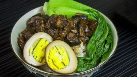 正宗台湾卤肉饭怎么做? 只需3步, 做出的卤肉饭汤汁浓稠不油腻