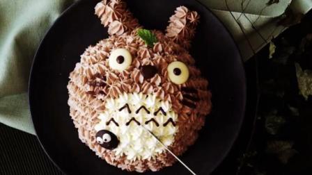 教你做治愈系龙猫焦糖慕斯蛋糕, 一起来回归美好