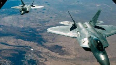美独立日当天, 俄4架轰炸机闯入美防空, 美F22实弹起飞紧急拦截!