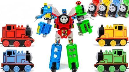 托马斯小火车变形金刚机器人玩具