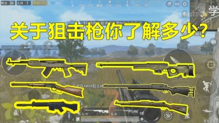 刺激战场: 狙击枪械排行版, 98K只排第三, 第一悄无声息杀人