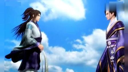 秦时明月: 你走之后, 我一人独活, 多年之后卫庄, 张良再遇韩非!