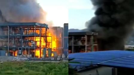 四川江安一工业园区发生爆燃事故, 已致19死12伤