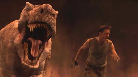 一部冒险科幻片, 科学家发现神秘洞穴直通地心, 恐龙竟活在这里!