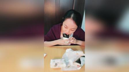 芝士蒲烧鳗鱼饭团, 培根饭团(1元购活动)