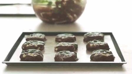 教你做曲奇饼干, 巧克力与抹茶的完美搭配, 甜而不腻, 酥脆可口