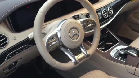 按下2018款奔驰AMG S65钥匙, 一脚油门声浪响起那刻才是真正霸气